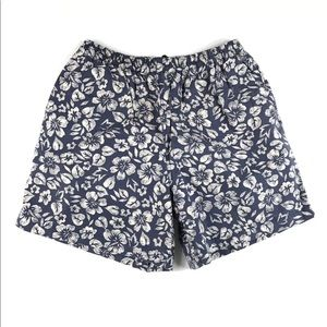 POLO SPORT ROPICAL FLORAL PRINT SWIM SHORTS